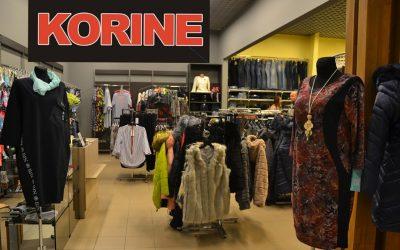 Pēc rekonstrukcijas atvērts veikals KORINE