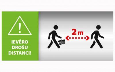 Ekonomikas ministrijas izstrādātie ieteikumi tirgotājiem un pircējiem ārkārtas situācijā